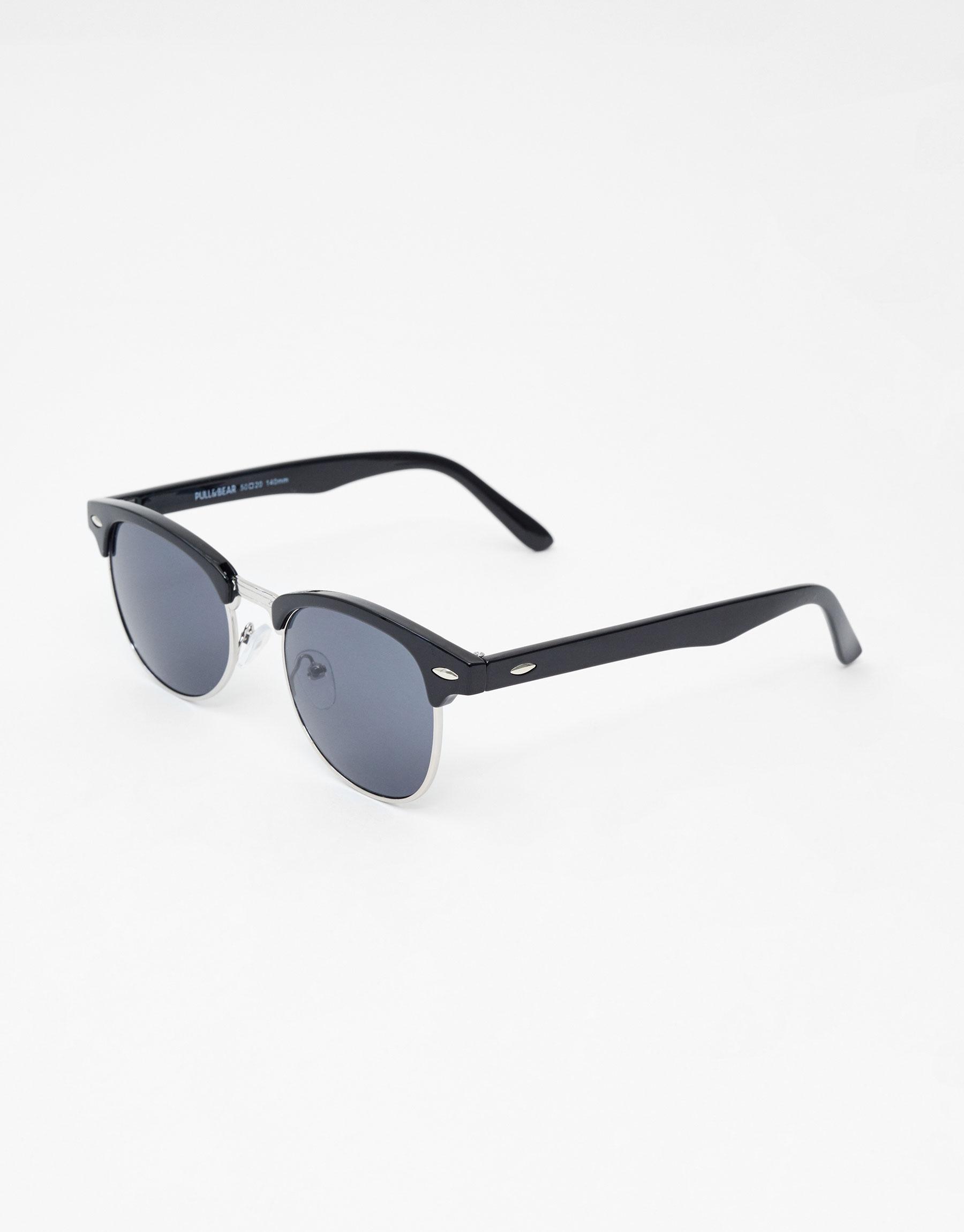 Imagen principal de producto de Gafas de sol media montura - Pull & Bear