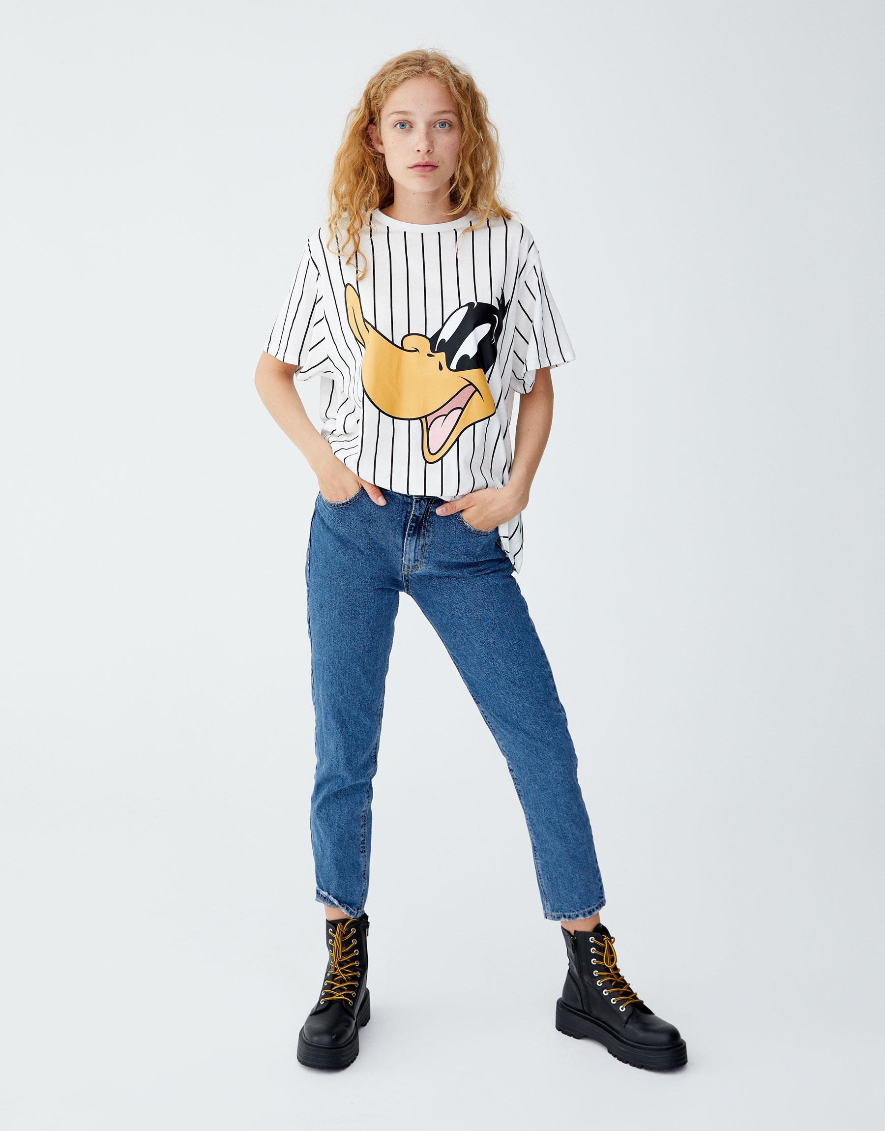 Imagen principal de producto de Camiseta Pato Lucas - Pull & Bear
