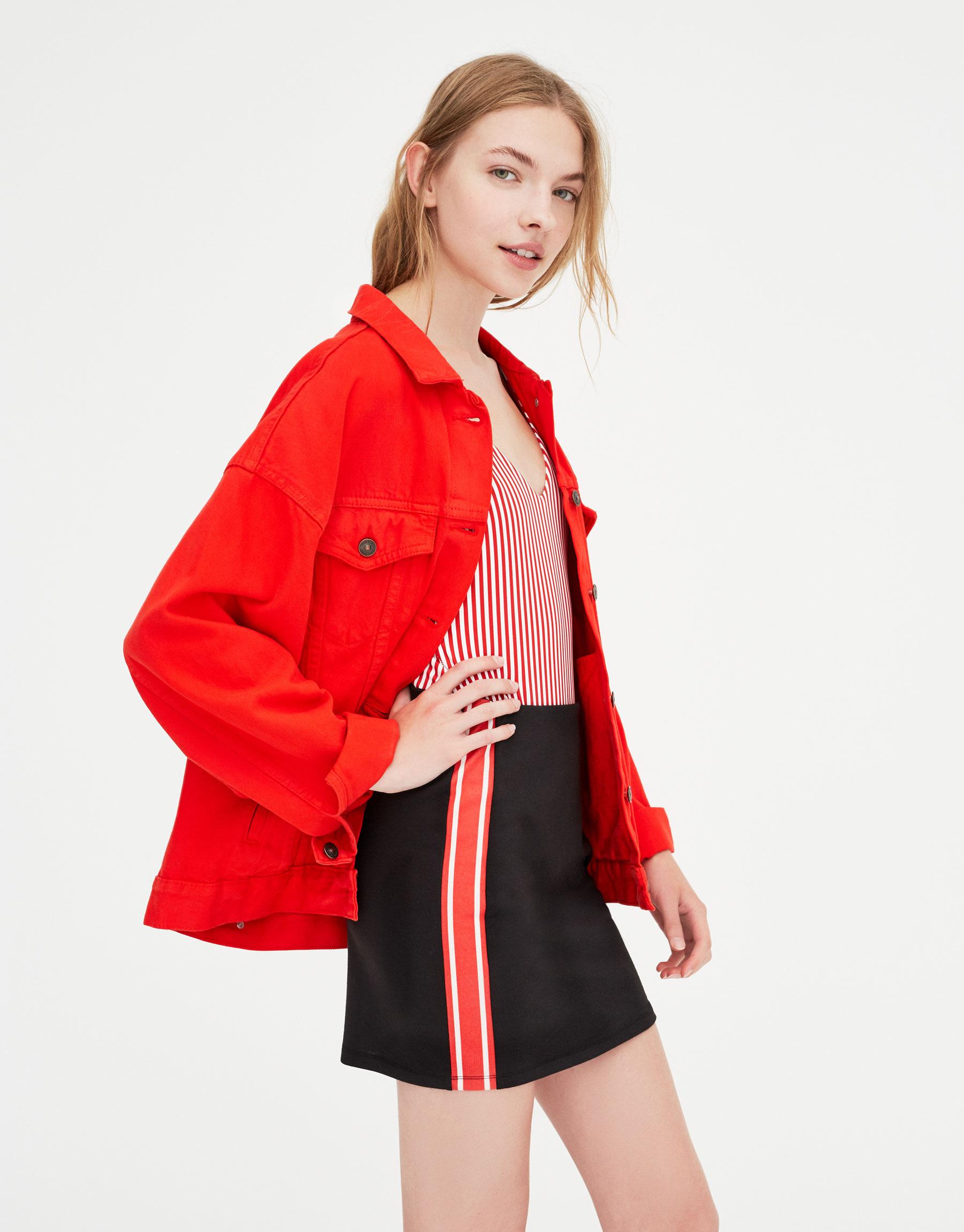 Imagen principal de producto de Minifalda banda lateral - Pull & Bear
