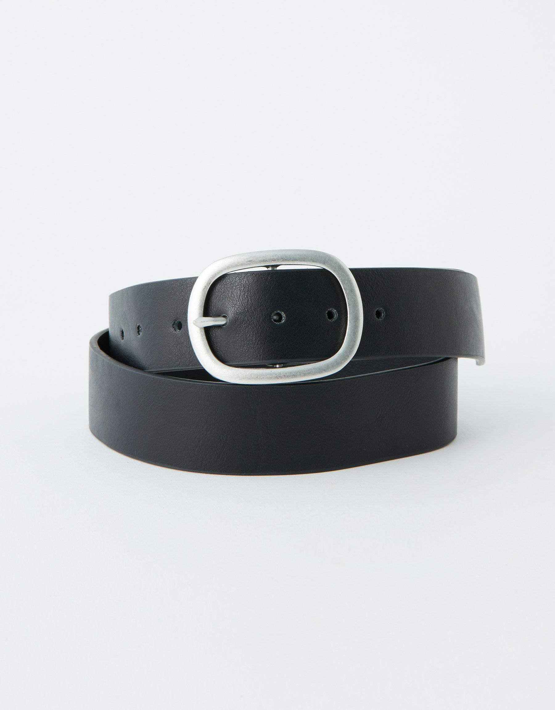 Imagen principal de producto de Cinturón hebilla ovalada - Pull & Bear