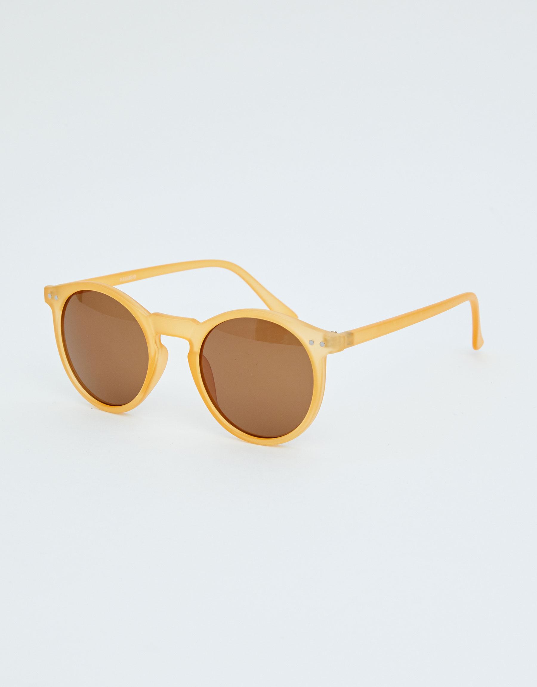 Imagen principal de producto de Gafas de sol redondas pasta - Pull & Bear