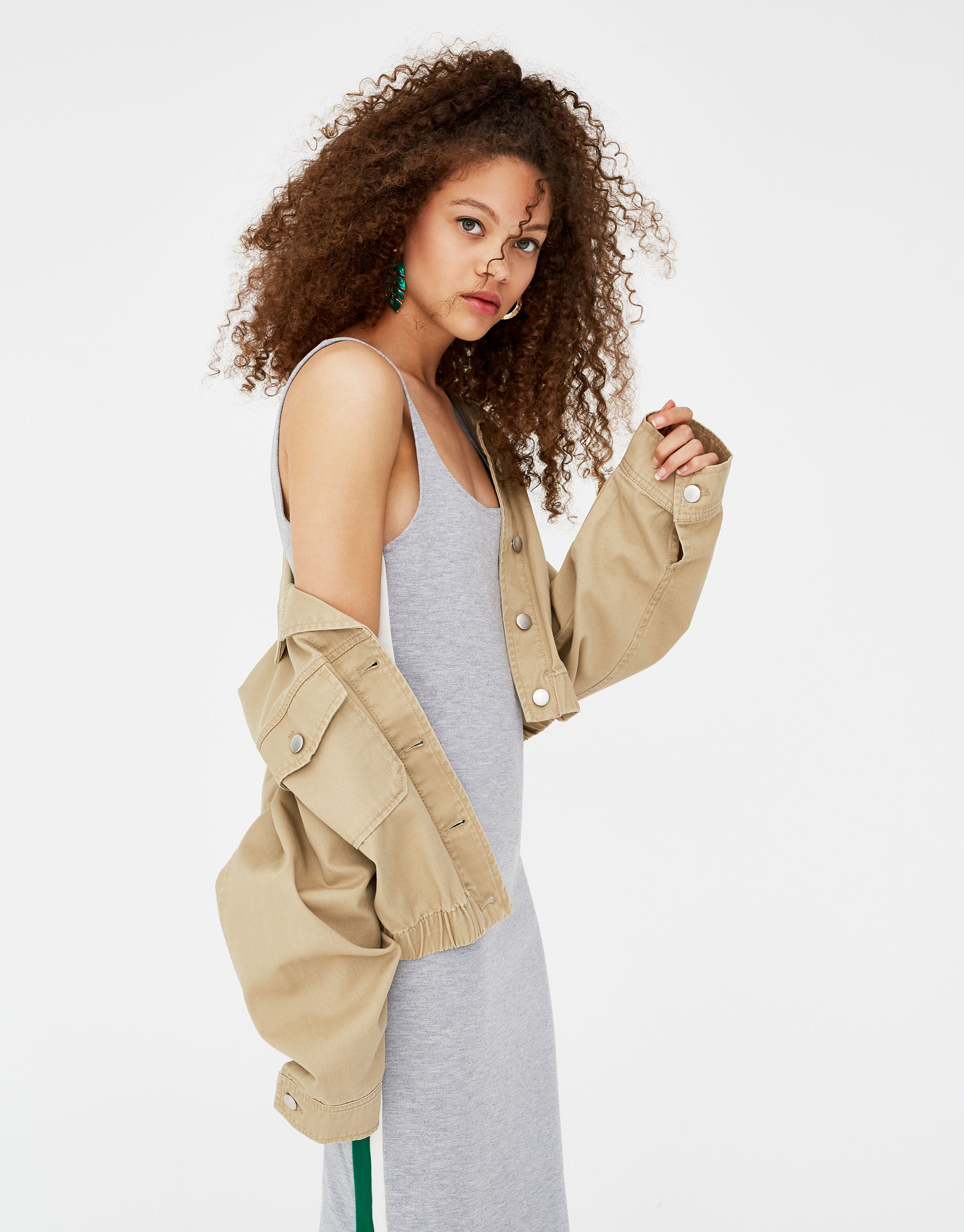 Imagen principal de producto de Vestido mini banda lateral - Pull & Bear