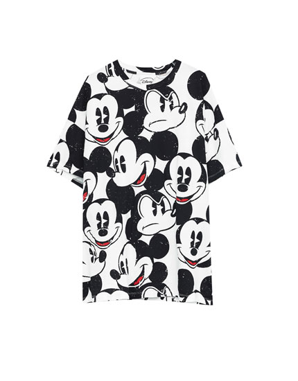 All-over Mickey Mouse print T-shirt