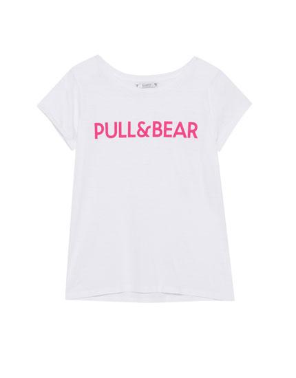 Basic T-shirt with logo