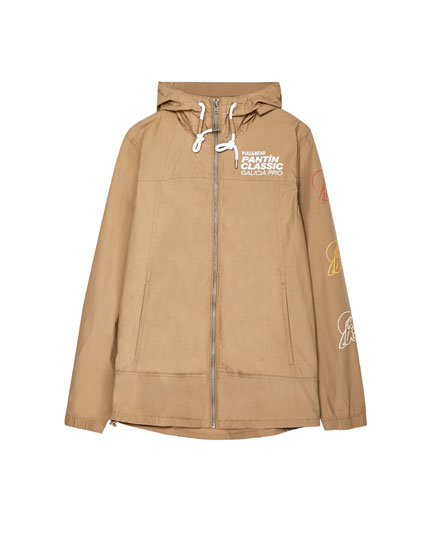 Cotton jacket with hood - Men's Pantín Collection