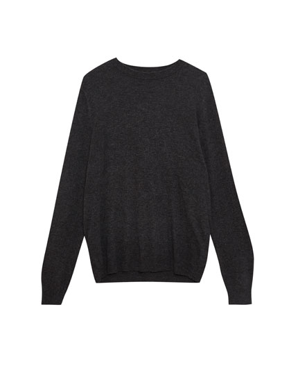 Basic wool sweater