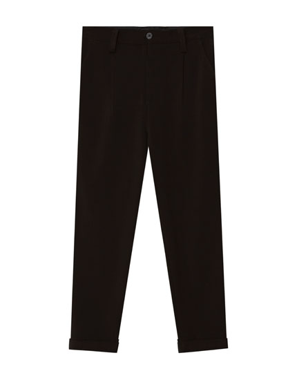 Tailored chino trousers