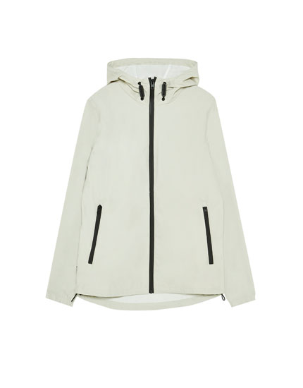 Short rubberised jacket