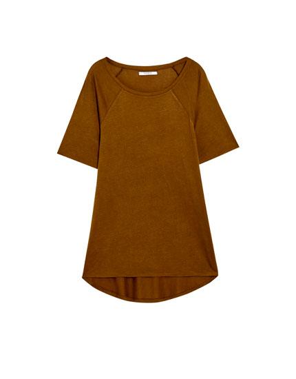 Basic T-shirt with raglan sleeves