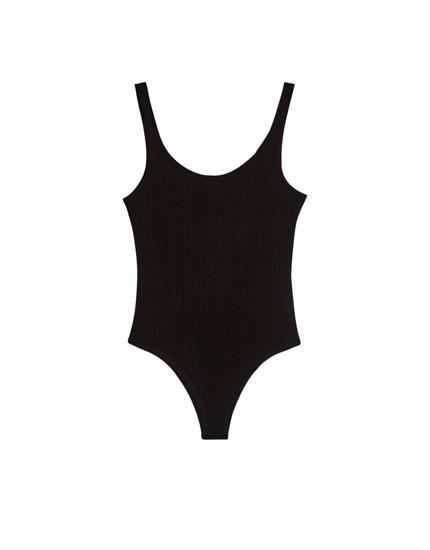 Basics bodysuit with straps