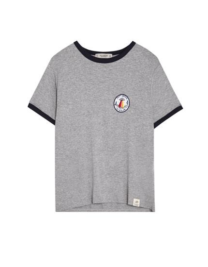 UFO patch T-shirt