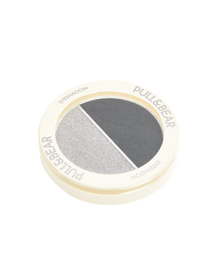 Eye shadow - Silver Rainbow & Black