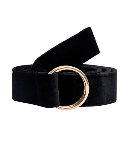 Wide belt with loops