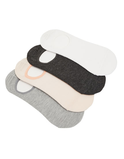Pack of 4 pairs of ankle socks