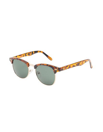 Half-rim sunglasses