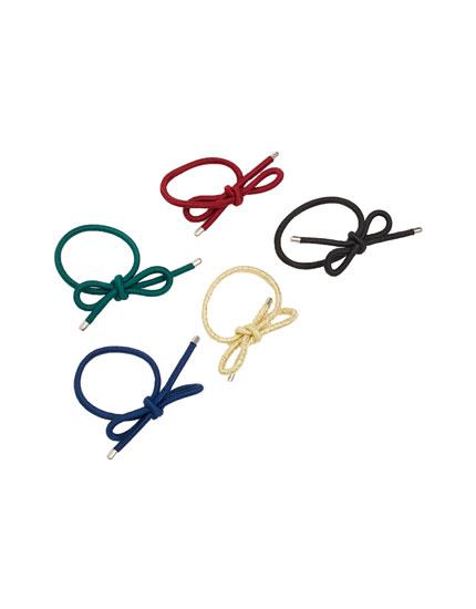 Bow hair ties