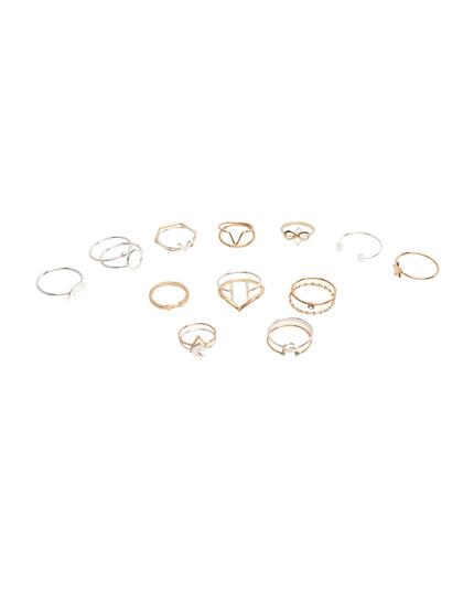 20-pack of rings