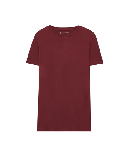Ecologically grown cotton basic T-shirt
