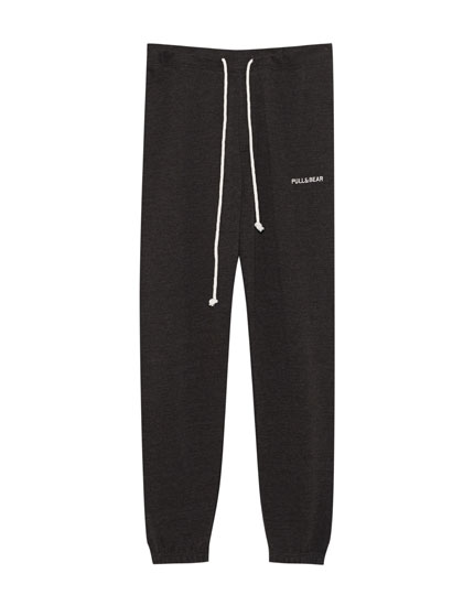 Jogging trousers with Pull&Bearlogo