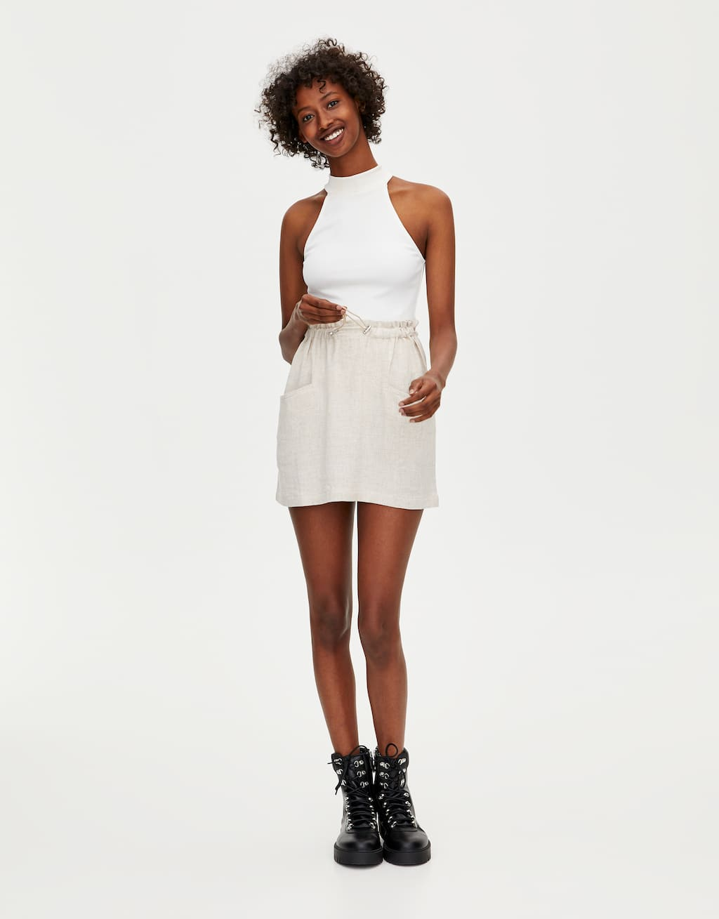 Basic Body Mit Neckholder by Pull & Bear