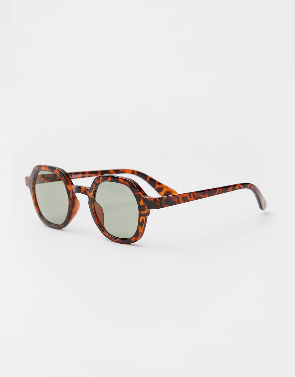Tortoiseshell Resin Sunglasses by Pull & Bear