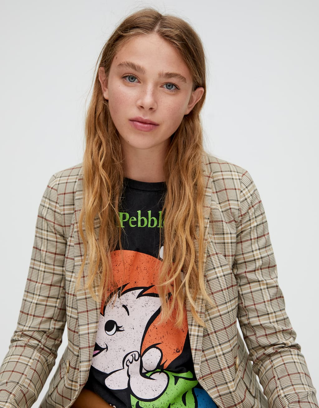 Pebbles From The Flintstones T Shirt by Pull & Bear