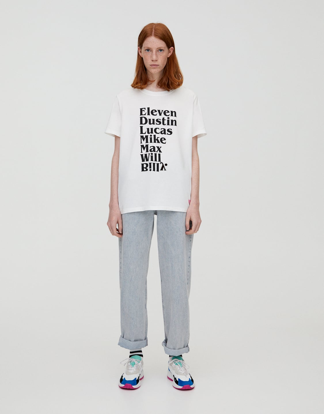 Stranger Things 3 T Shirt With Character Names Pullbear