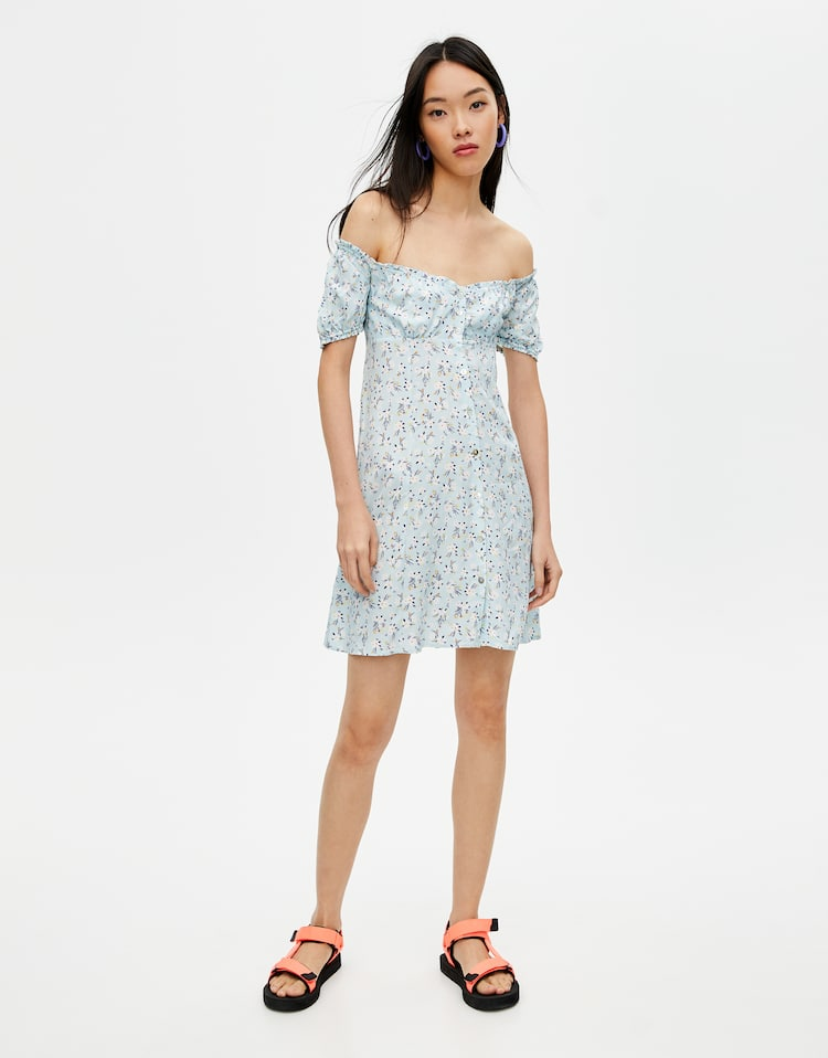 15fe285e Check out the latest in Women's Dresses | PULL&BEAR