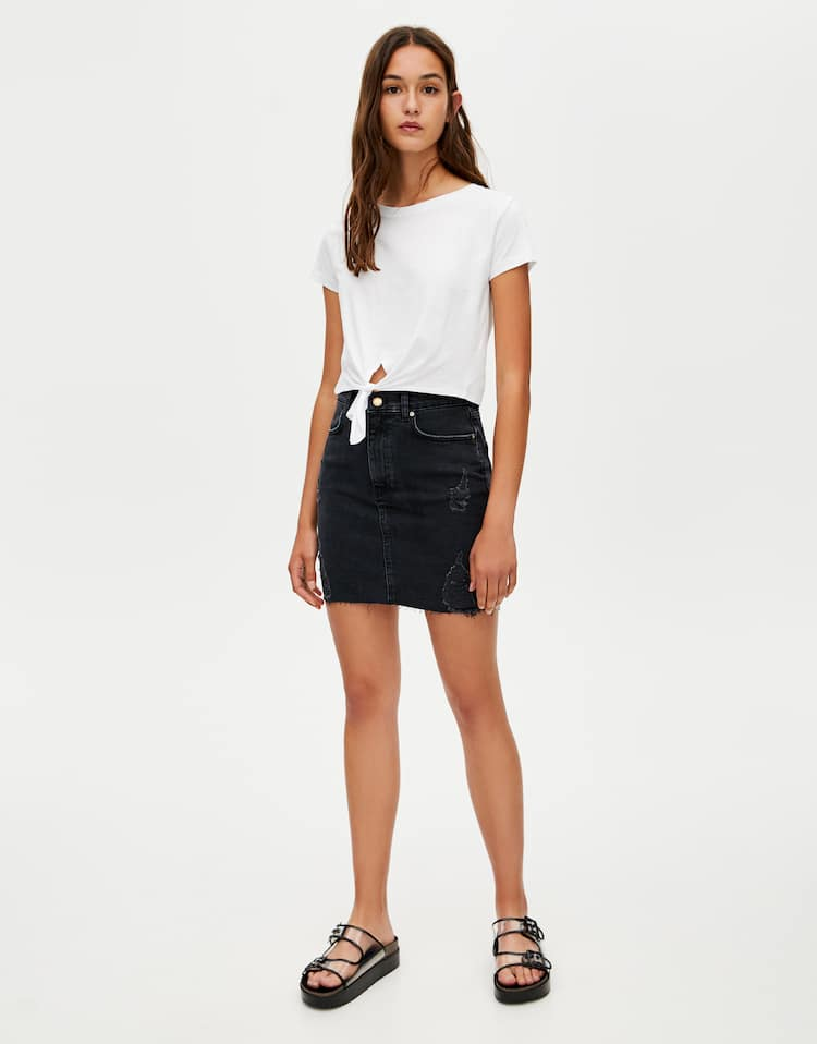 445dfe4a4 Discover the latest in Women's Trendy Skirts | PULL&BEAR