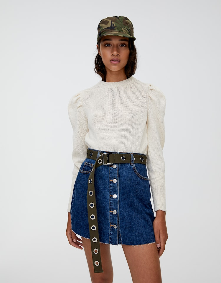 1ecfc2c48 Discover the latest in Women's Trendy Skirts | PULL&BEAR