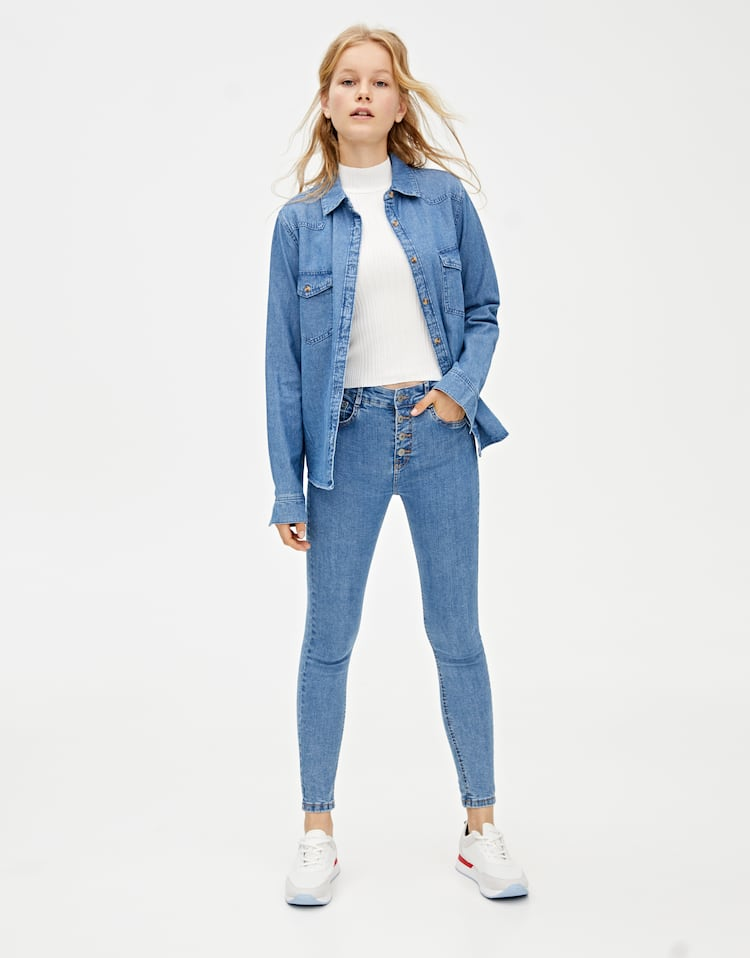 release date 44b4f a4473 Women's Push-up Jeans | PULL&BEAR