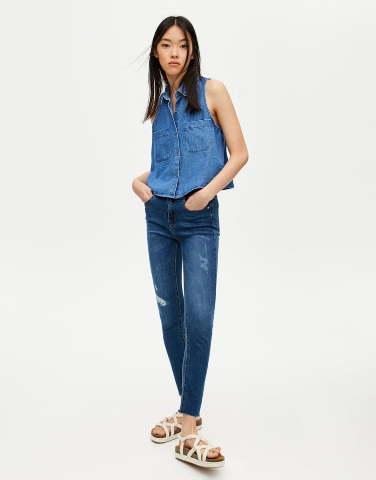 c08b2717af91 Women's Denim Wear by Pull&Bear for getting it spot on this season