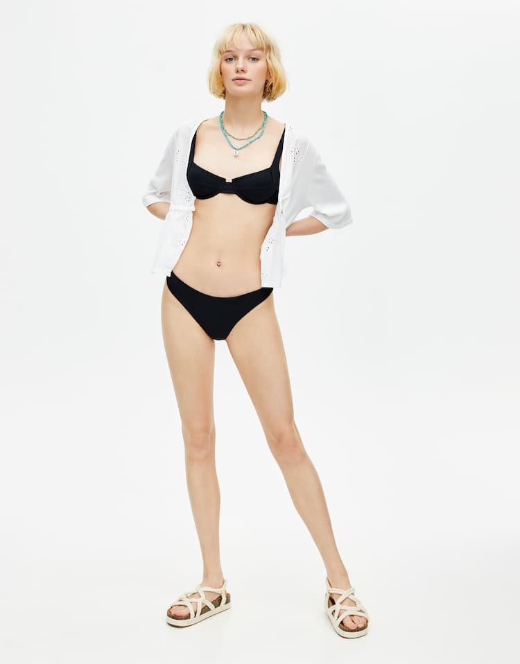 6c6a1777ae7504 Women's Swimsuits and Bikinis | PULL&BEAR