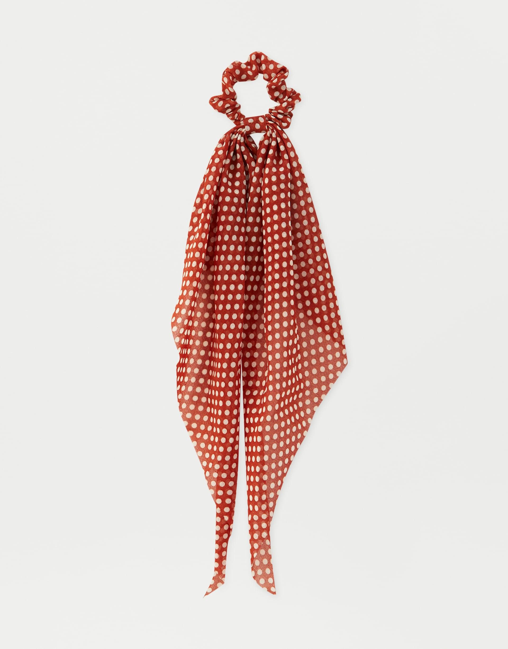 riche et magnifique nouvelles promotions la vente de chaussures Chouchou foulard à pois