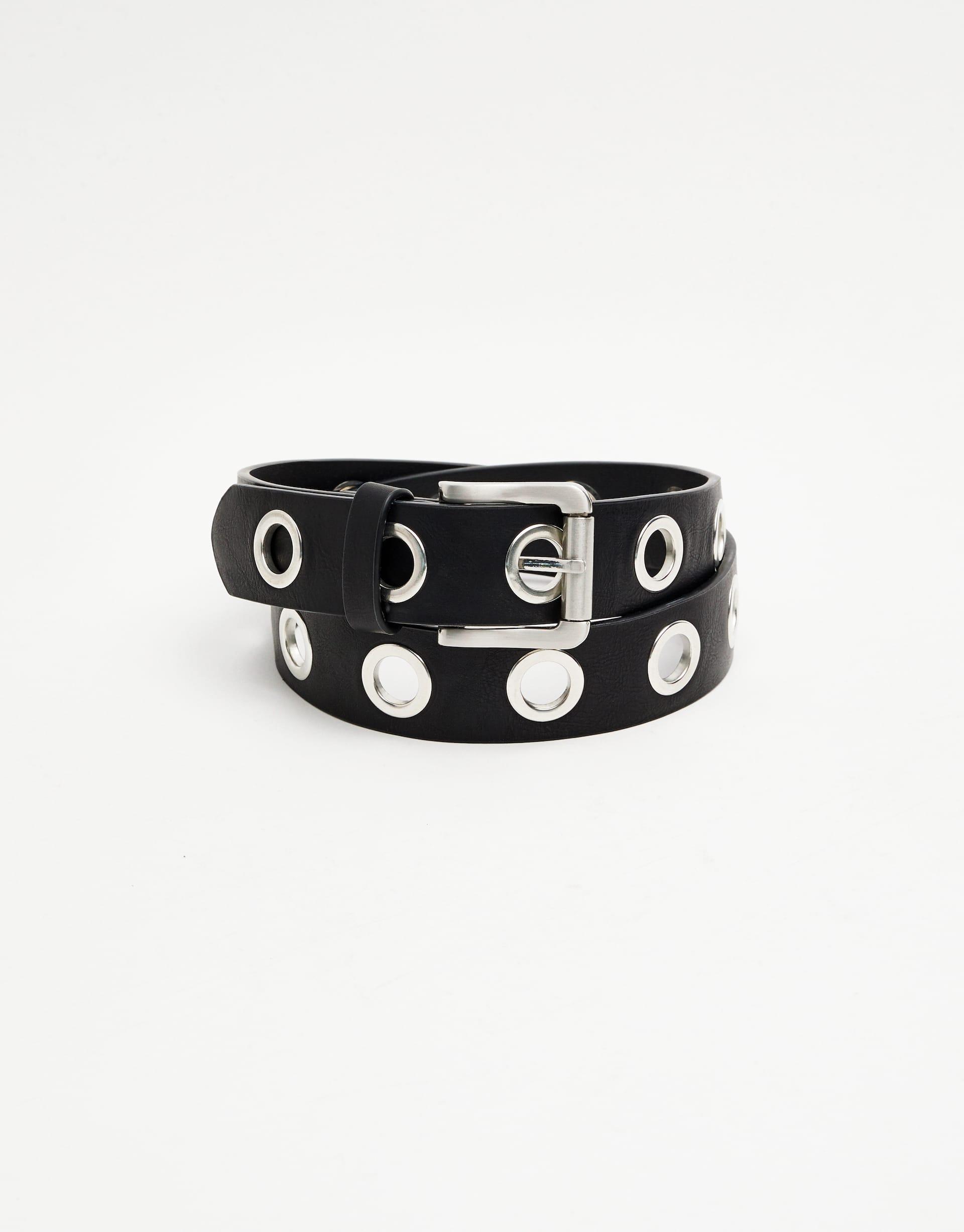 nueva estilos bd6f6 04362 Cinturón eyelets