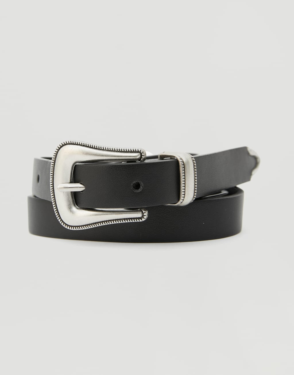 Thin Cowboy Belt by Pull & Bear