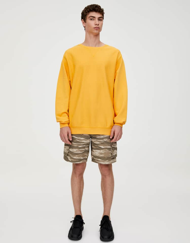 a2aad3d9e4d4 Men's Sweatshirts - Spring Summer 2019 | PULL&BEAR