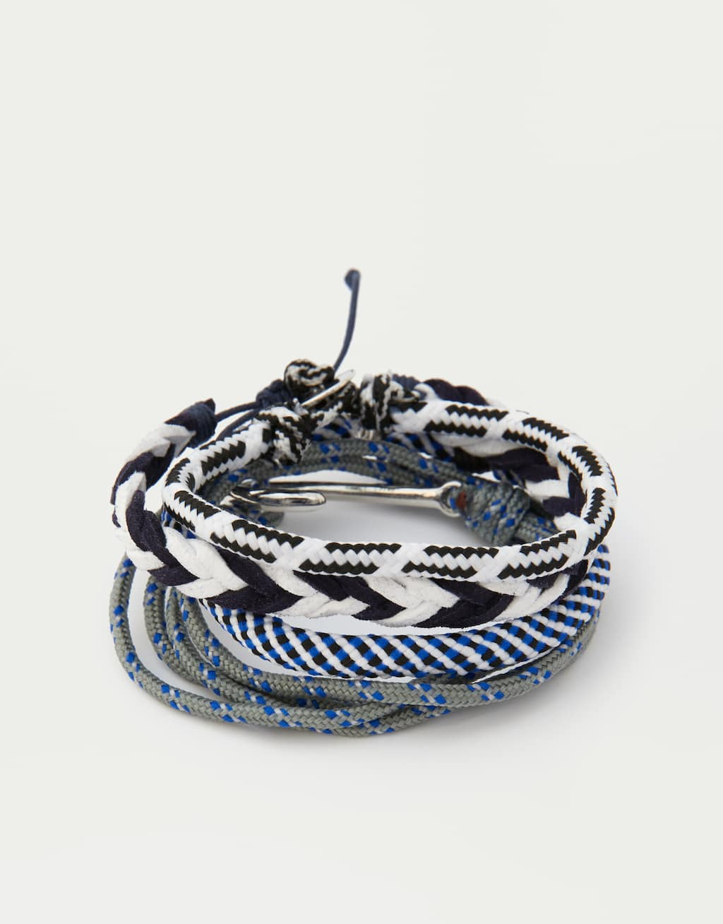 Pack Of 4 Braided Nautical Bracelets by Pull & Bear
