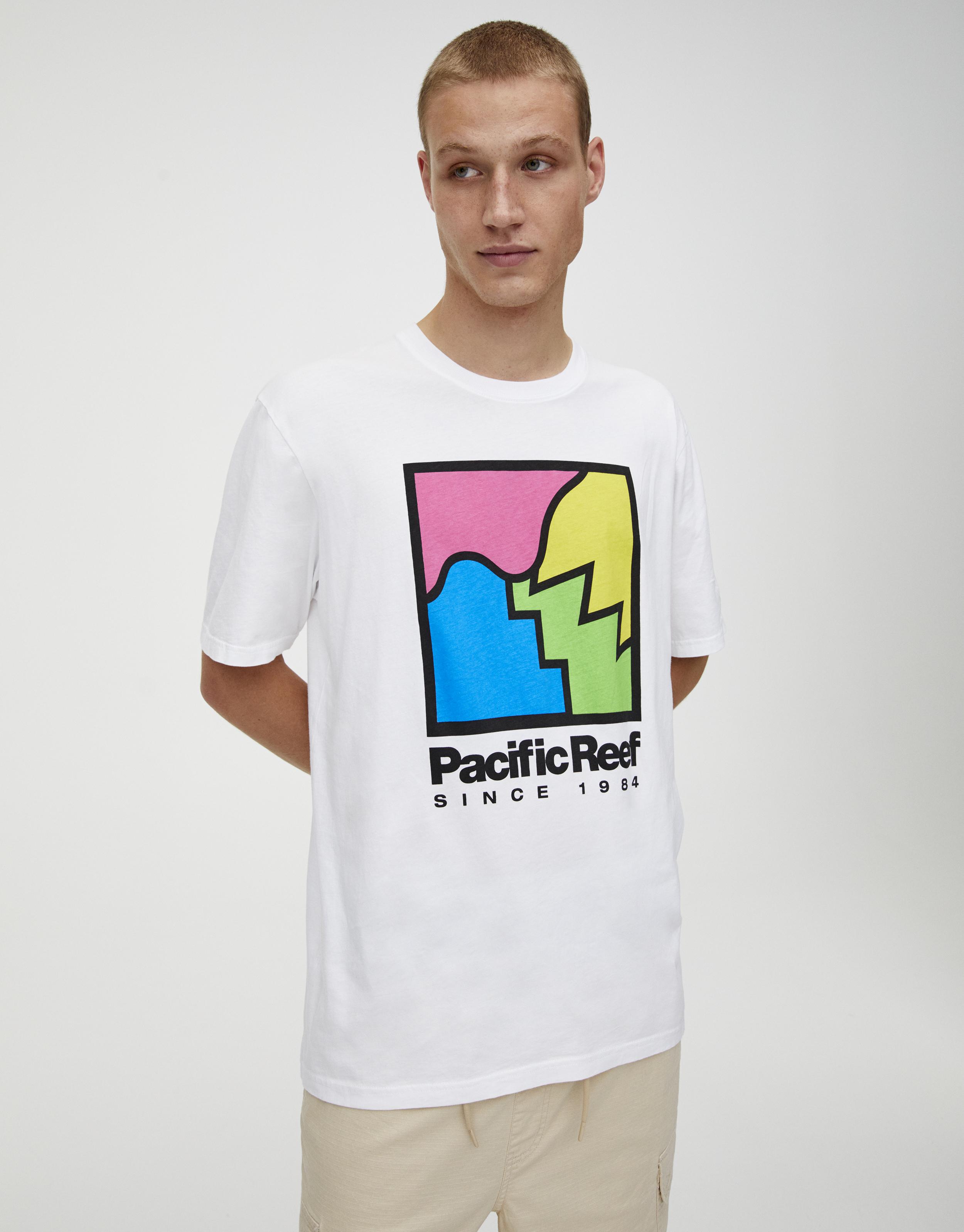 Camiseta Pacific blanca