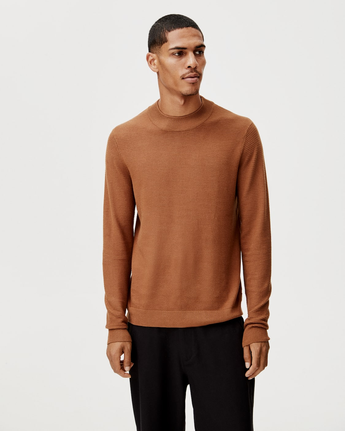 men's roll neck