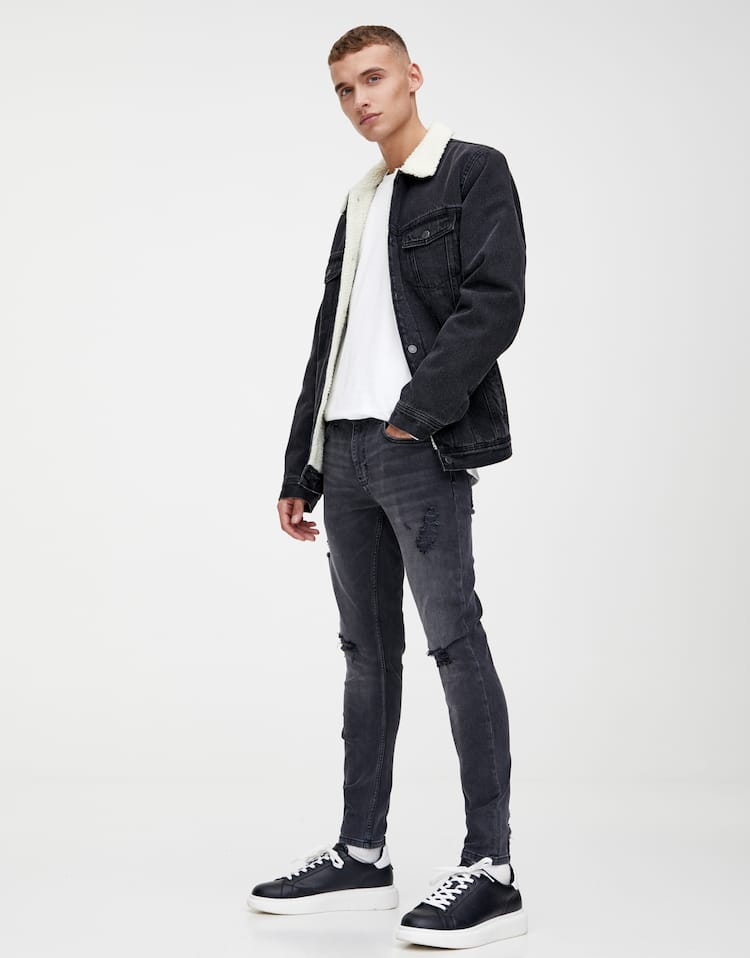 Jeans Skinny Fit Premium Color by Pull & Bear