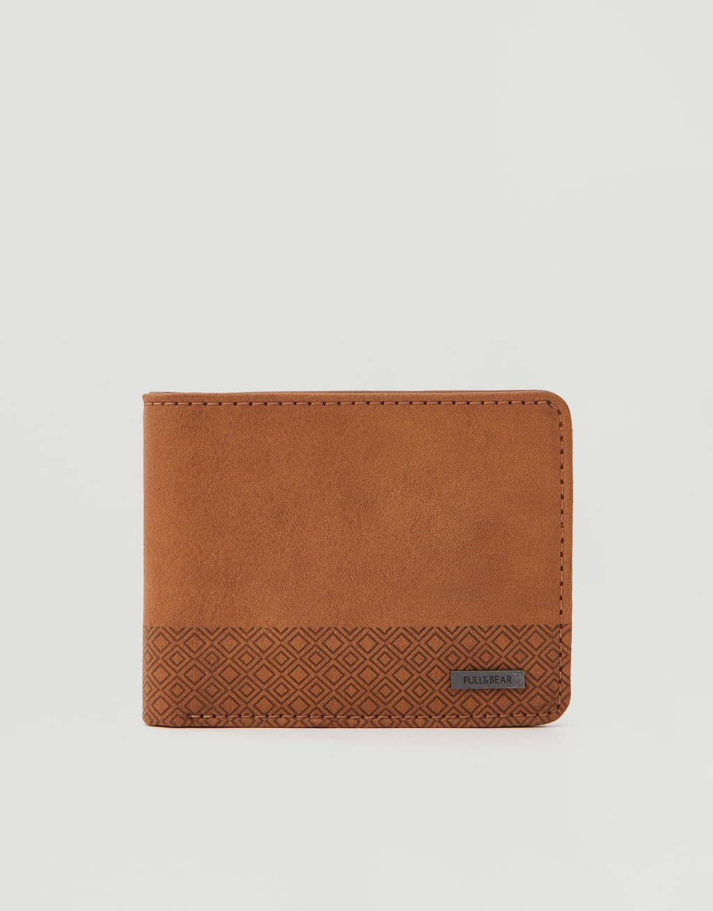 Textured Wallet With Coin Pocket by Pull & Bear