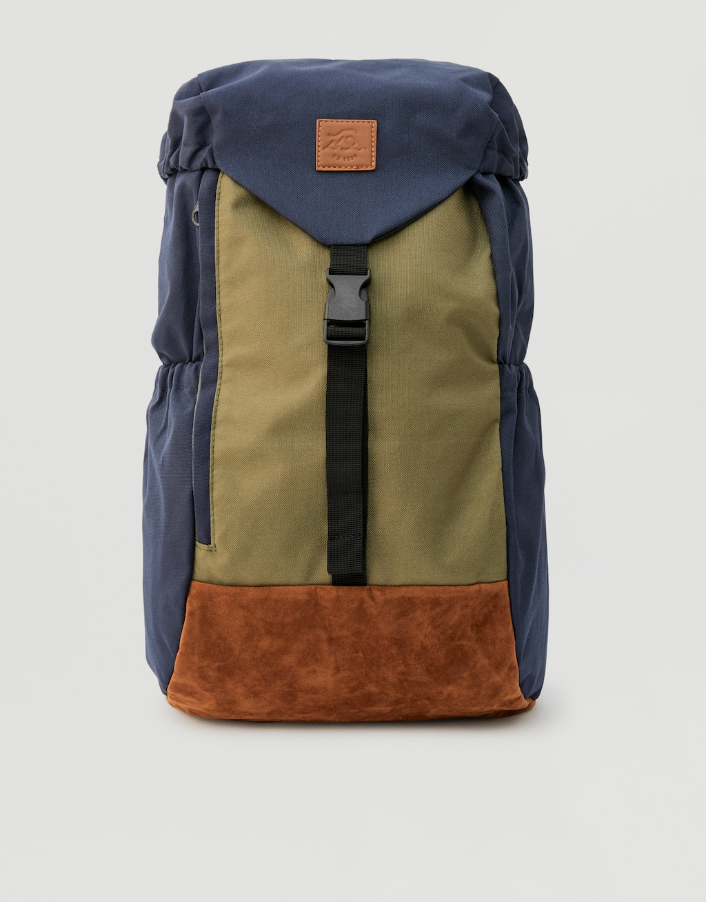 Coloured Hiking Backpack by Pull & Bear