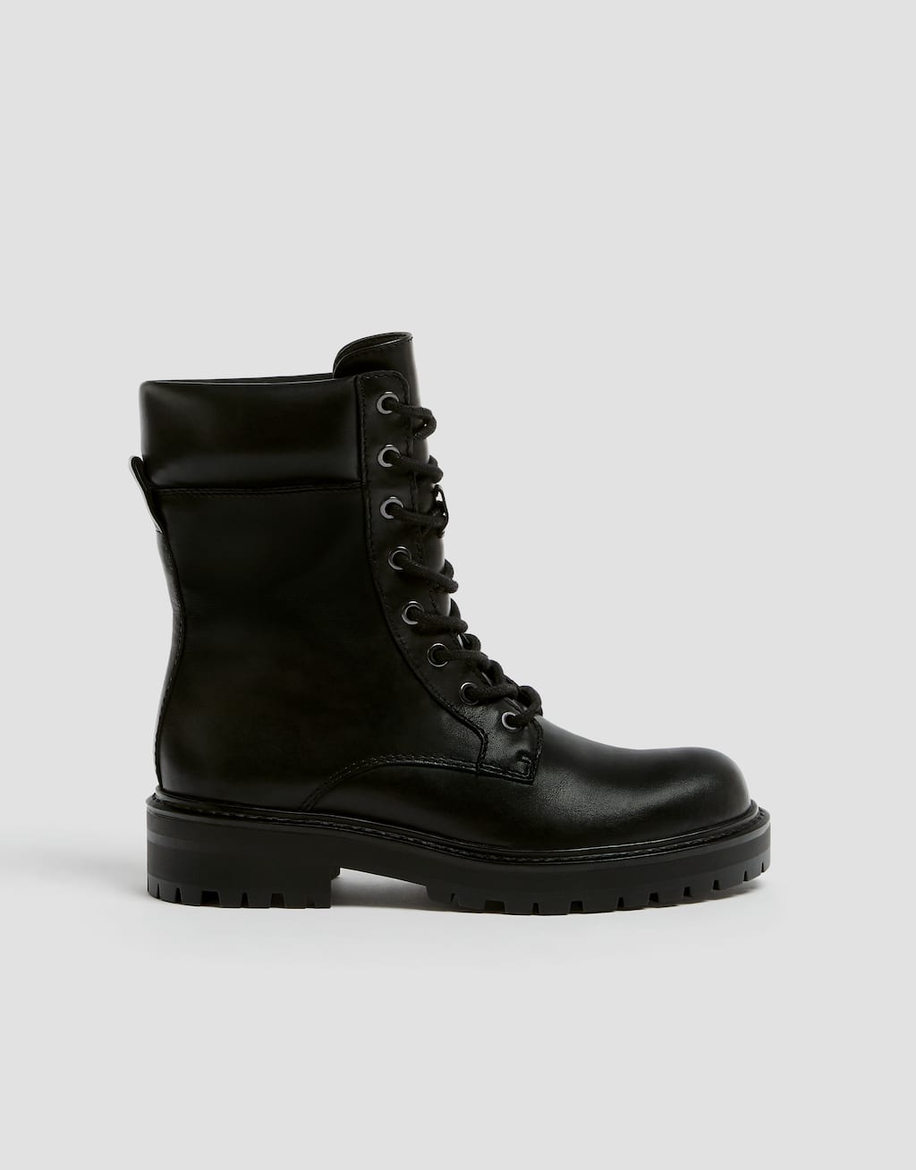 Bottes Militaires Cuir by Pull & Bear