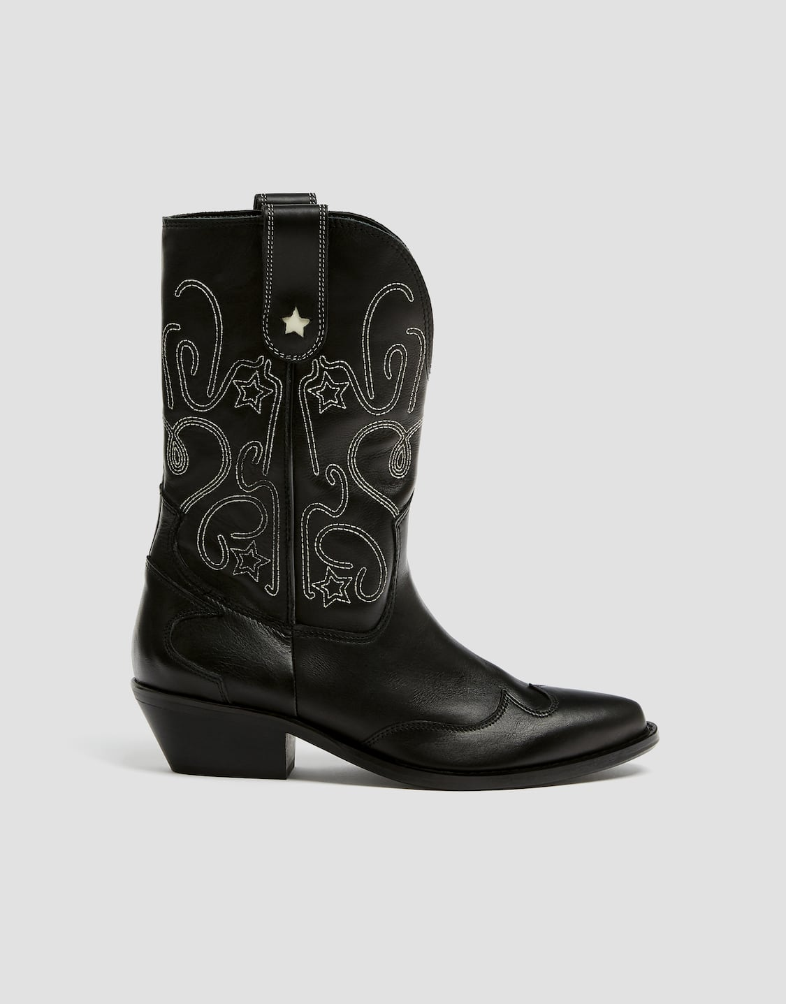 big discount sale 100% satisfaction 60% discount Embroidered leather cowboy boots