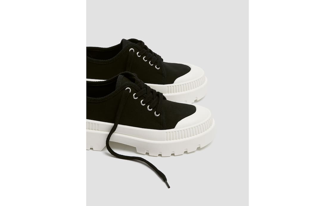sneakers for cheap d9e5d 5fba1 New Shoes for Women - Autumn Winter 2019   PULL&BEAR