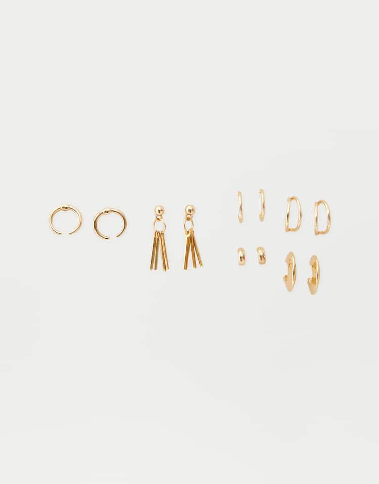 9fb386f76059 Pendientes - Bisutería - Accesorios - Mujer - PULL BEAR España