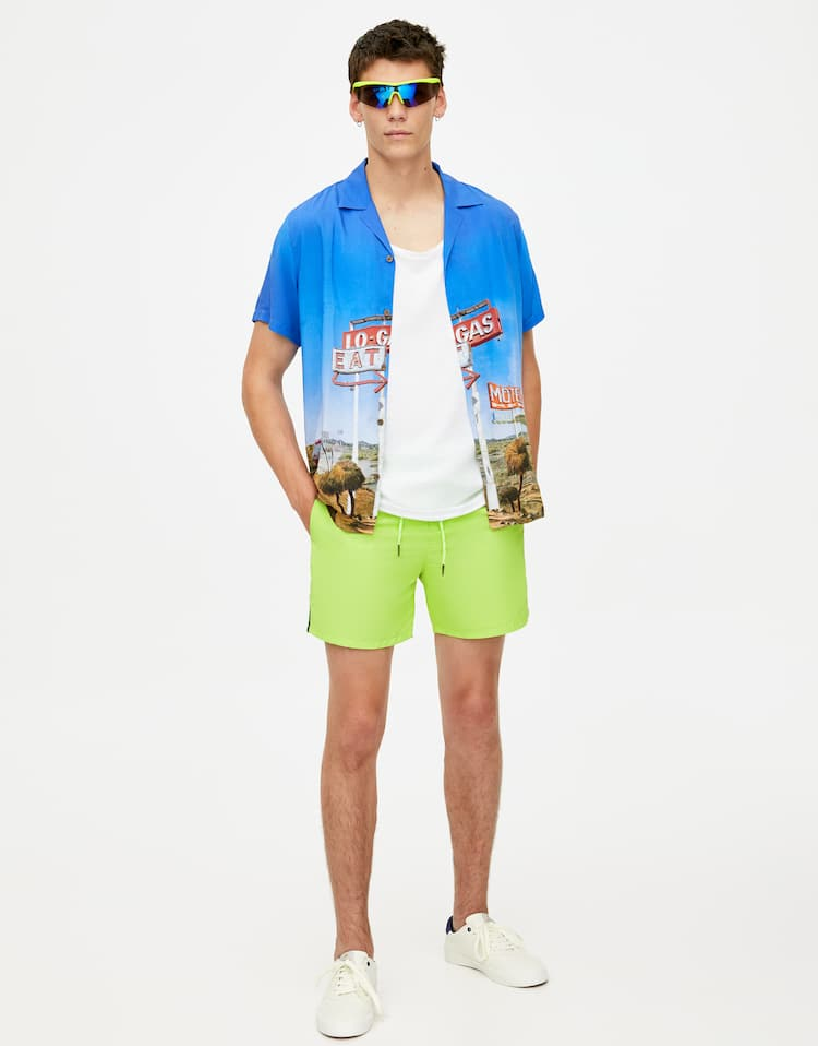 d205292d10acf Men's Swim Shorts - Spring Summer 2019 | PULL&BEAR