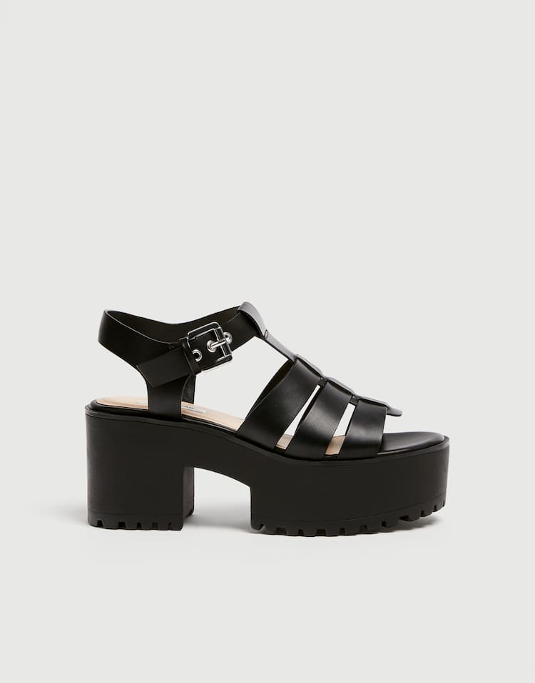 e35c128be Best sellers ❤ - Shoes - Woman - PULL BEAR United States