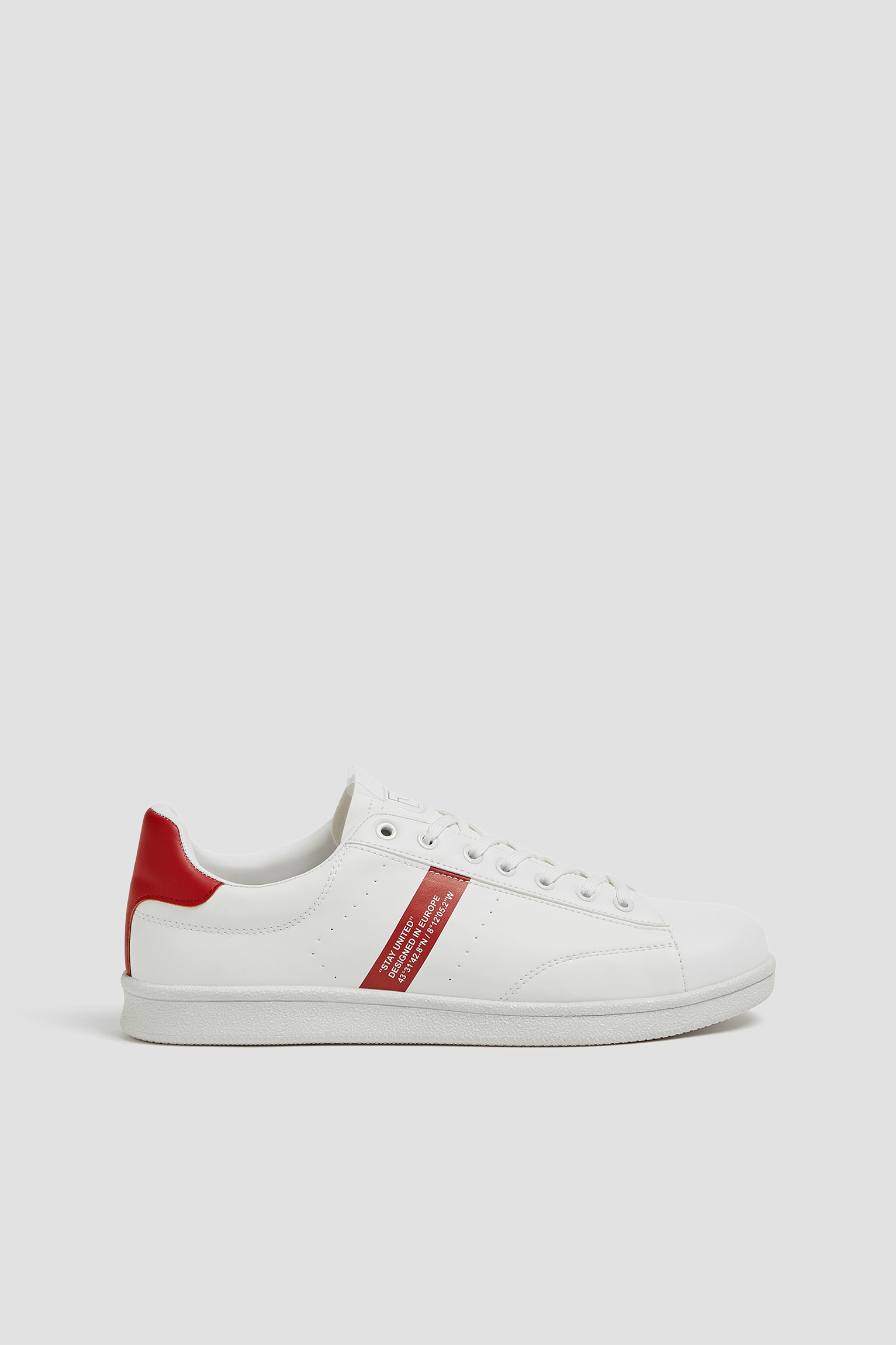 Trainers with vinyl detail - PULL\u0026BEAR